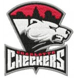 Charlotte Checkers logo machine embroidery design for instant download