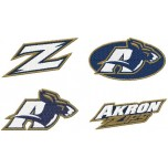 Akron Zips logo machine embroidery design for instant download