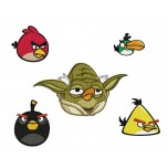 Angry birds 5 machine embroidery designs for instant download