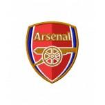 Arsenal FC Logo Machine Embroidery Design for instant download