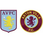Aston Villa F.C. logo machine embroidery design for instant download