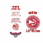 Atlanta Hawks 5 machine embroidery designs in package for instant download