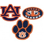 Auburn Tigers logo machine embroidery design for instant download