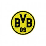 Borussia Dortmund logo machine embroidery design for instant download