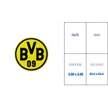 Borussia Dortmund logo machine embroidery design for instant download
