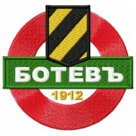 PFC Botev Plovdiv logo machine embroidery design for instant download