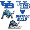 University at Buffalo Bulls logo machine embroidery design for instant download