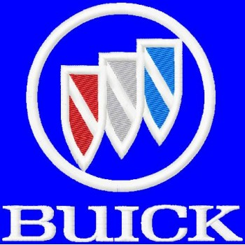 Buick Logo Machine Embroidery Design in 4 sizes for instant download