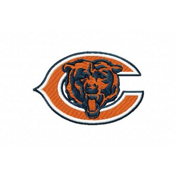 Chicago Bears 3 logos machine embroidery design for instant download