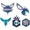 Charlotte Hornets logo machine embroidery design for instant download