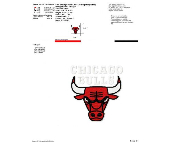 Bulls logo machine embroidery design for instant download chicago bulls logo machine embroidery design for instant download voltagebd Choice Image