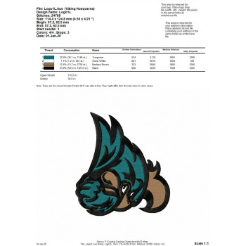 Coastal Carolina Chanticleers logo machine embroidery design for instant download