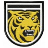 Colorado College Tigers logo machine embroidery design for instant download