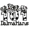 101 Dalmatians machine embroidery design for instant download