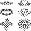 Decor laces aplique machine embroidery design for instant download