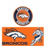 Denver Broncos 3 logos machine embroidery design for instant download