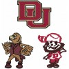 Denver Pioneers logos machine embroidery design for instant download