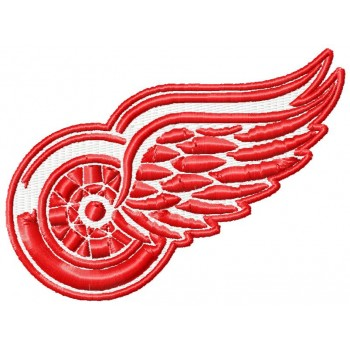 Detroit Red Wings logo 3 machine embroidery designs for instant download