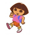 Dora the explorer machine embroidery design for instant download