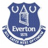 Everton FC logo machine embroidery design for instant download