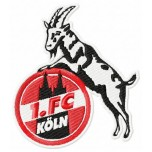 FC Koln logo machine embroidery design for instant download