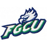 FGCU Eagles  logo machine embroidery design for instant download