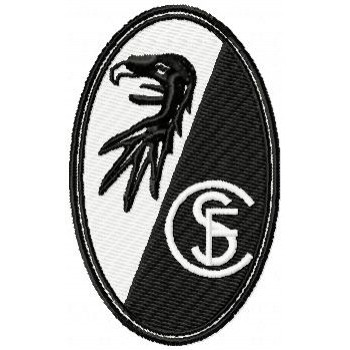 Freyburg Fc logo machine embroidery design for instant download