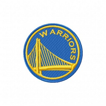 Golden State Warriors 6 logos machine embroidery designs for instant download