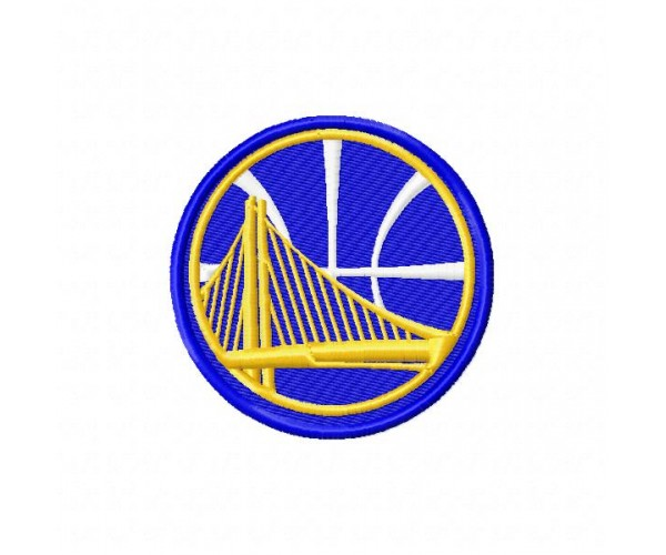 Golden state warriors logos machine embroidery designs