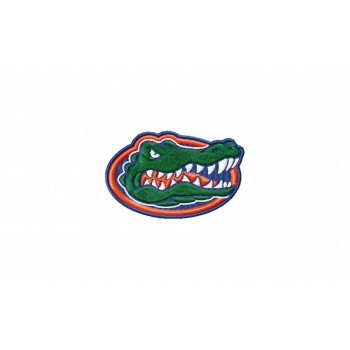 Florida Gators logo machine embroidery design for instant download
