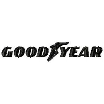 Good Year logo free embroidery design for instant download
