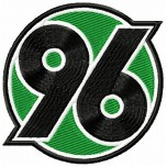 Hannover 96 logo machine embroidery design for instant download