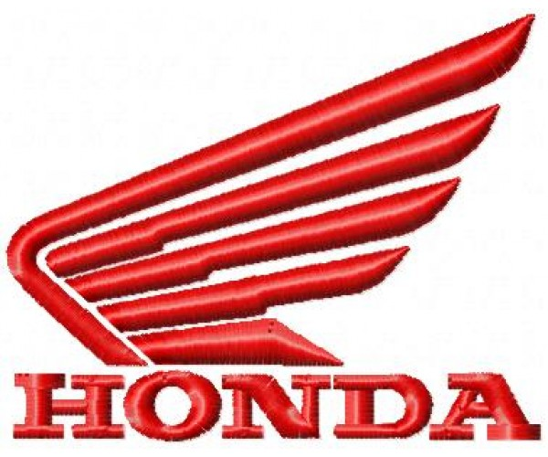 honda motorcycle logo machine embroidery design for. Black Bedroom Furniture Sets. Home Design Ideas