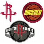 Houston Rockets logo machine embroidery design for instant download