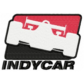 Indycar logo machine embroidery design for instant download
