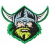 Canberra Raiders logo machine embroidery design for instant download