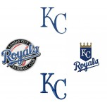 Kansas city Royals logo machine embroidery design for instant download