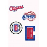 Los Angeles Clippers 5 Logos Machine Embroidery Design full stich & aplique for instant download