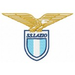 S S Lazio logo machine embroidery design for instant download