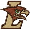 Lehigh Mountain Hawks logo machine embroidery design for instant download