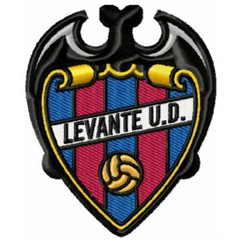 Levante UD logo machine embroidery design for instant download