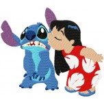 Lilo and Stitch machine embroidery design for instant download