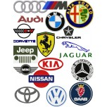 Logo Autos Machine Embroidry Design for instant download