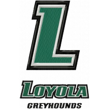 Loyola-Maryland Greyhounds logos machine embroidery design for instant download