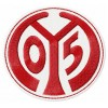 FSV Mainz 05 logo machine embroidery design for instant download