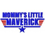 Mommys little Maverick machine embroidery design