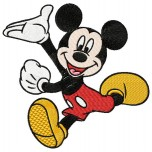 Mickey mouse machine embroidery design for instant download