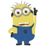 Minion Jerry machine embroidery design for instant download