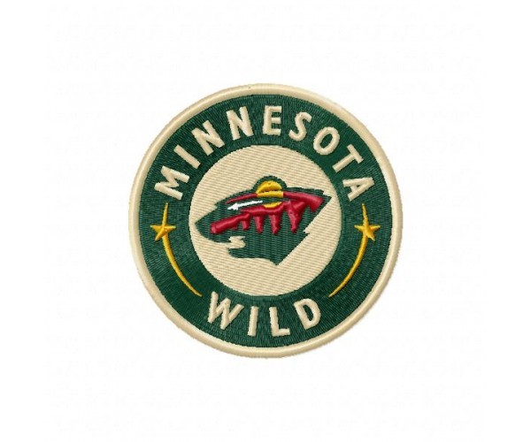Minnesota wild logo machine embroidery design for instant download - Minnesota wild logo ...