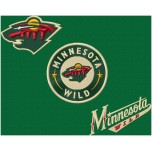 Minnesota Wild logo machine embroidery design for instant download